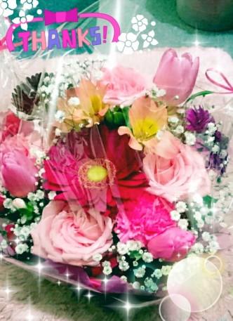 201601会社より頂いた誕生日花