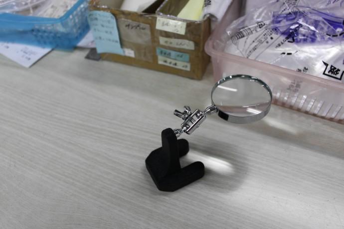 検品アクセサリー虫眼鏡