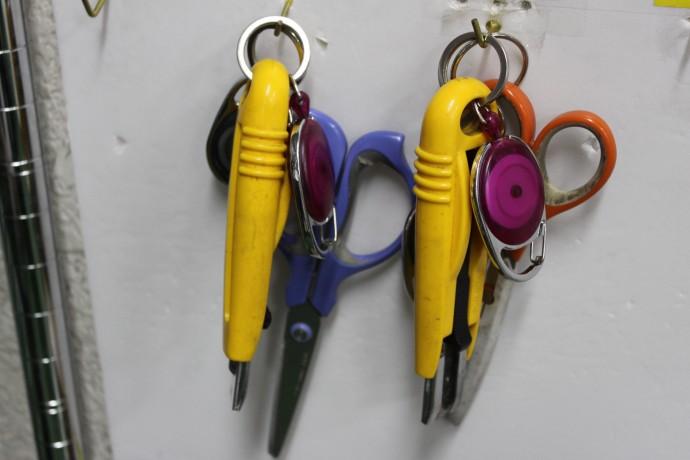作業時に携帯する道具