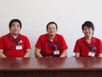 越谷営業所 入社~1年の3人