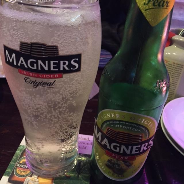 マグナースというアイルランドのソーダ(アルコール)
